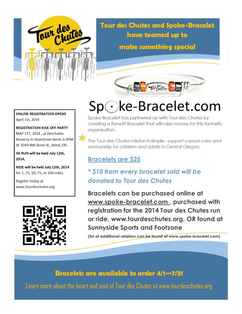 TdC bracelet poster